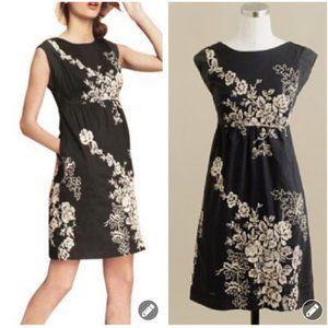 J Crew Mirabel Embroidered Floral Dress